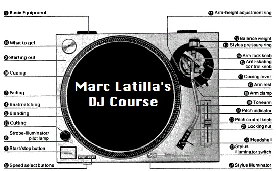 My DJ course as a free download   Marc Latilla