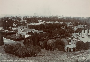 View of Johannesburg from Nugget Hill early 1900s
