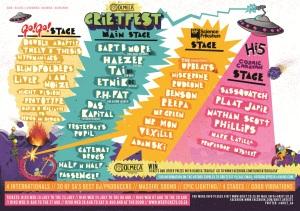 Grietfest line-up