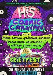 Grietfest Hi5 Cosmic Caravan poster