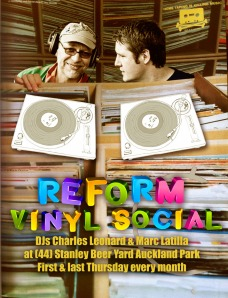 Reform Vinyl Social kicking it old school