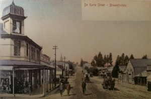 De Korte Street looking west early 1900s
