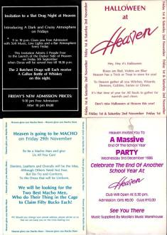 Heaven flyer selection