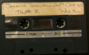 One of the original tapes