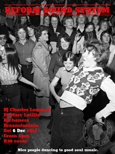 REFORM! Northern Soul flyer Dec 2014