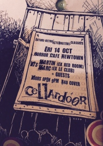 The 1st Cellardoor flyer