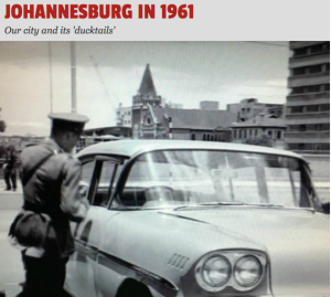 Johannesburg in 1961