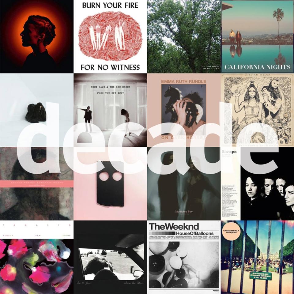 Marc Latilla's albums of the decade 2010-2018